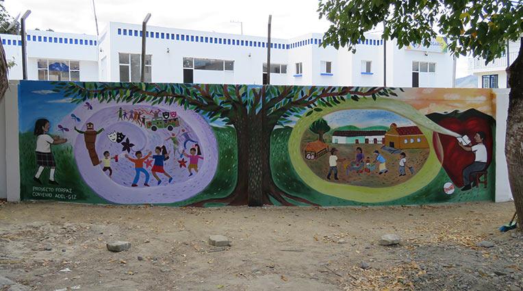 Mural-el-Rosario